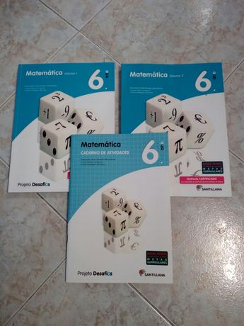 Manual de Matemática 6° ano