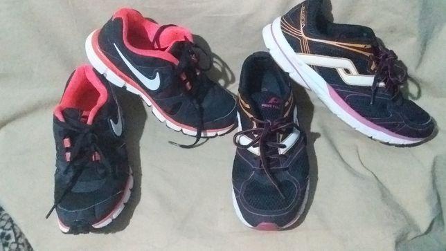 Кроссовки -Nike dual fusion-38.5/24,5; Pro Touch-42/27.5- оригинал