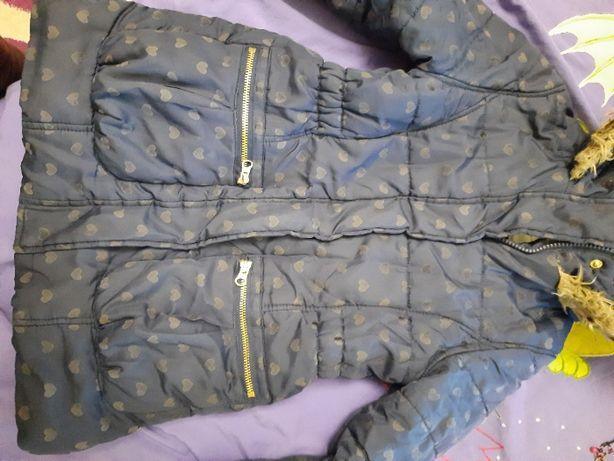 Деми курточка парка 4 - 6 лет