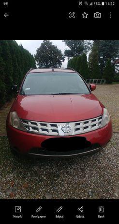 Nissan Murano, uszkodzona skrzynia biegów (możliwa sprzedaż na części)