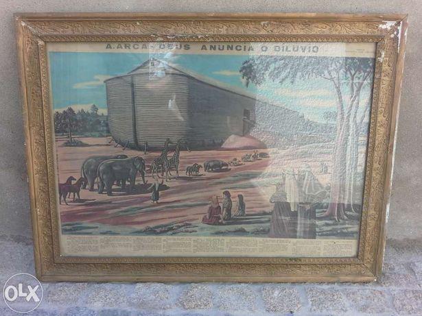 quadro Dilúvio vintage