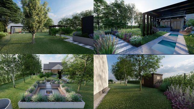 projekt ogrodu, zieleni,taras, architekt krajobrazu,ogród nowoczesny