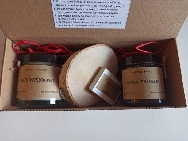 Zestaw 2 świec.  Pomysł na prezent.  Mix zapachów.
