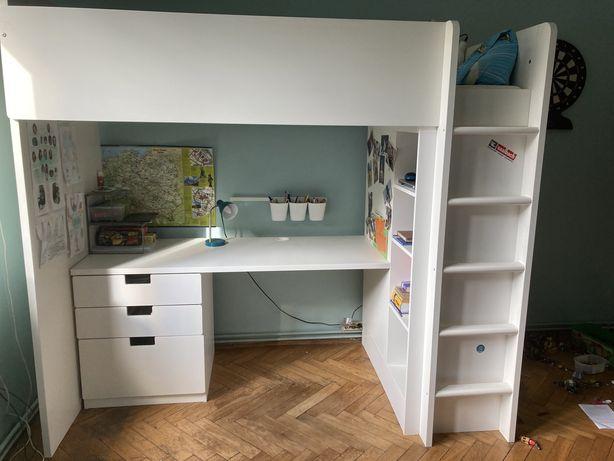 Ikea Stuva Smastad - łóżko na antresoli + biurko + szafa