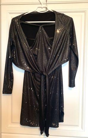 Ослепительное платье на Новый год и болеро