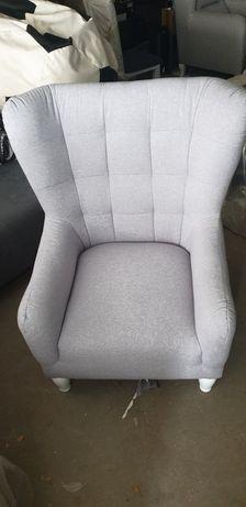 Nowy fotel z black red white
