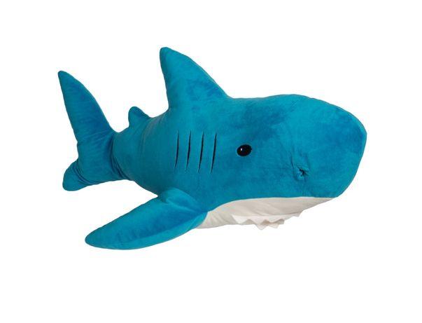 Мягкая игрушка Aкула IKEA 50см Синяя