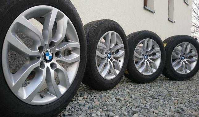 BMW X1 X3 E46 E90 F10 F25 F30 17 cali 5x120 ET32 Opony 225/60 Czujniki