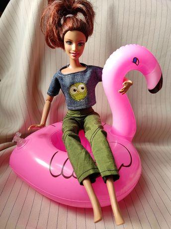 Круг для барби надовной фламинго Barbie аксесуари аксессуары