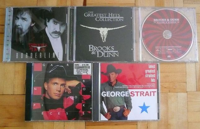Country - Brooks, Dunn, Strait - 5 płyt CD