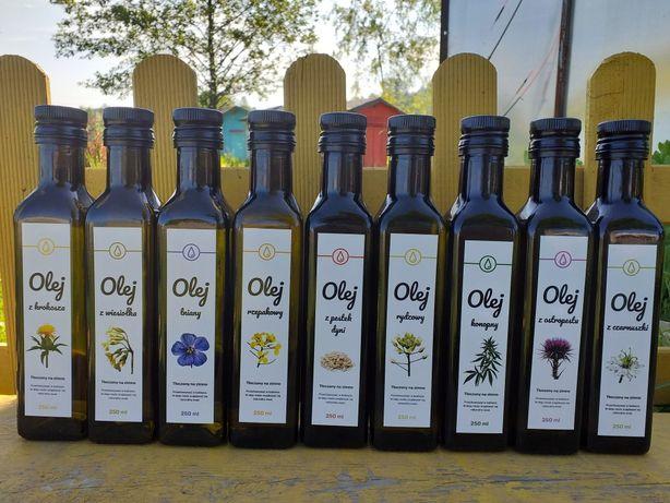 Oleje tłoczone na zimno: czarnuszka, lniany, miód, uloterapia, jajka