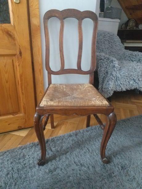 Piekne krzesło ludwikowskie
