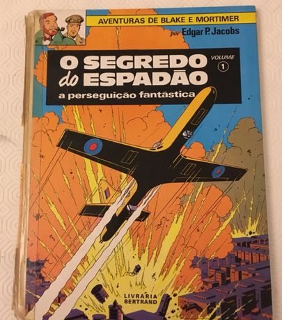 O segredo do espião por Edgar P.Jacobs