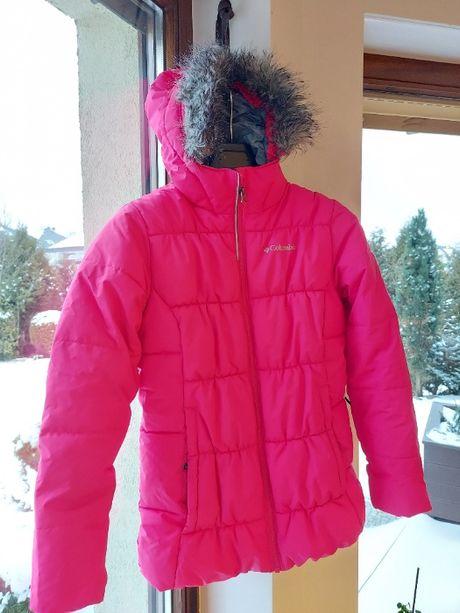 dziewczęca kurtka narciarska Columbia 152 cm różowa