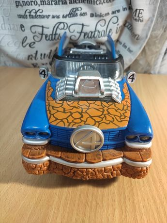 Fantastic 4 Thing Hot Rod with Electronic Lights & Sounds Marvel