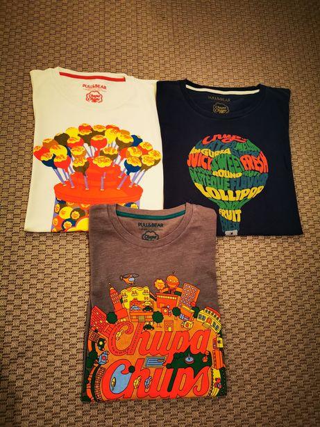 T shirts Chupa Chups (edição limitada) Pull&Bear