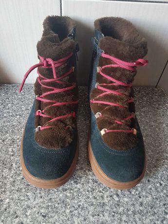 ботинки зимние Camper р,36 на меху