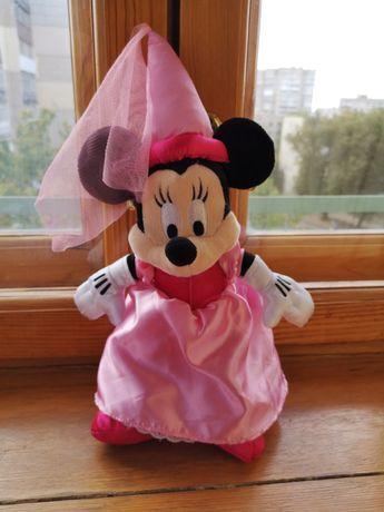 Оригинал Disney Мягкая игрушка мышка Минни Маус фея Disneyland