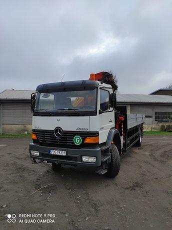 Mercedes Atego 1828 HDS Palfinger 6050kg 4x4