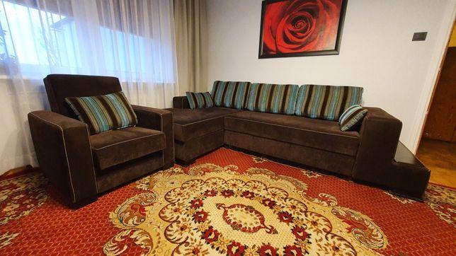 Zestaw wypoczynkowy, kanapa, narożnik, fotel, wypoczynek