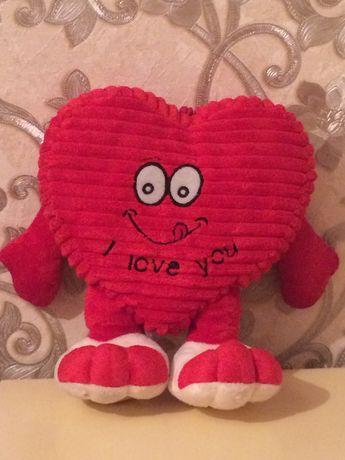 Мягкая игрушка Сердце 25 см