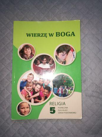 Podręcznik dla klasy 5 szkoły podstawowej Wierzę w Boga Religia