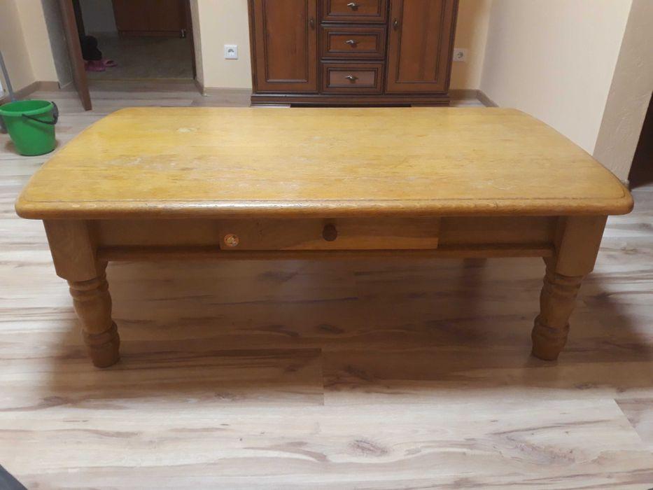 Stolik kawowy lite drewno Izbicko - image 1
