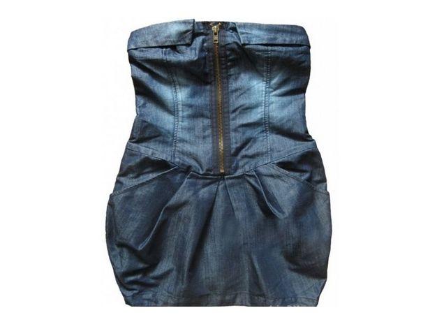 Sukienka jeansowa Atmosphere Denim