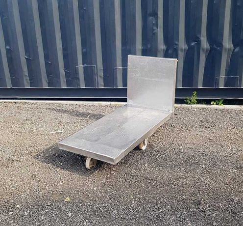Wózki transportowe nierdzewne ( stal nierdzewna ) 2szt