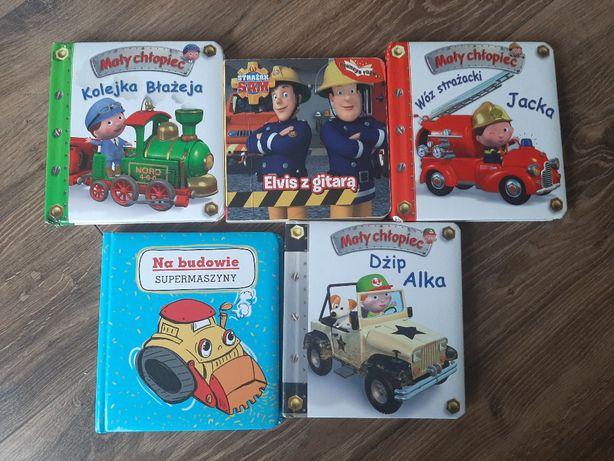 Książeczki dla chłopczyka 5 sztuk!