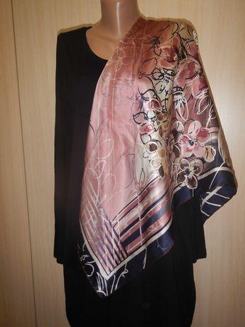 Шелковый платок armine 100% шелк