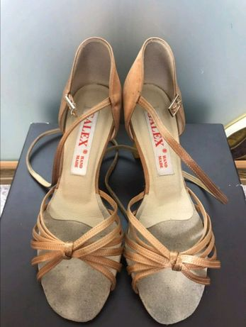 Туфли латина для бальных танцев