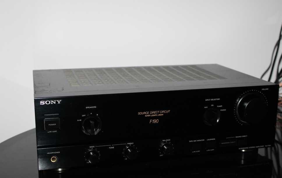 SONY TA-F190 Wzmacniacz stereo hi-fi Wysyłka