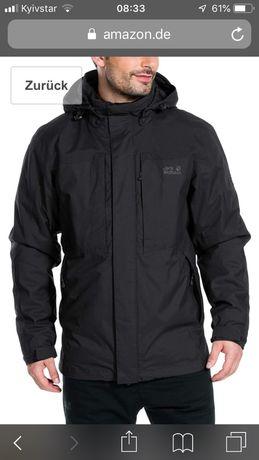Куртка JACK WOLFSKIN BEN LEVIS MEN -Оригінал -розмір L-XL(нова)