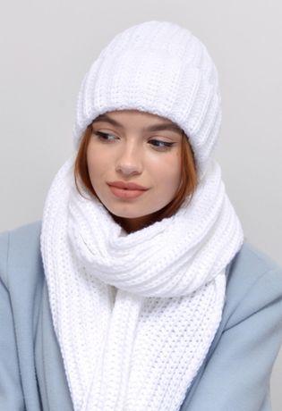 Классный комплект шарф+шапка