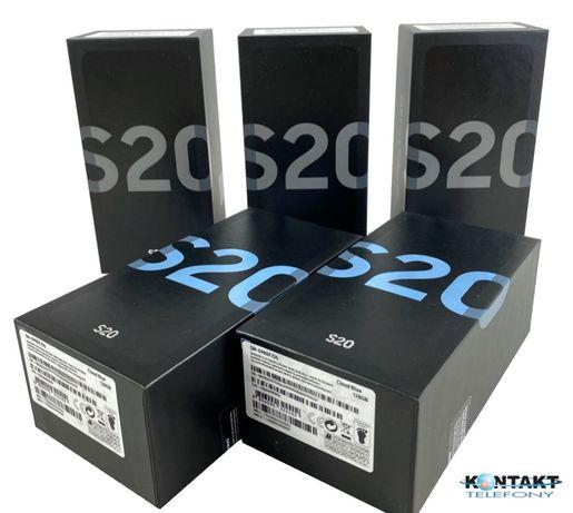 Nowy Samsung Galaxy S20 Grey Blue Pink, z gwarancją 24m, Gdynia Centru