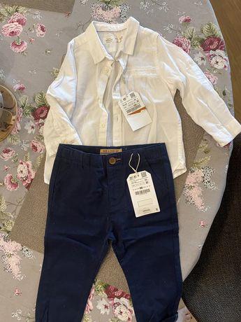 Нарядный или повседневный комплект на мальчика Zara