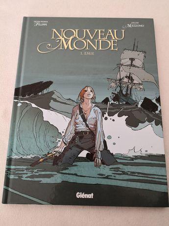 Livro BD em francês - Le Nouveau Monde 1