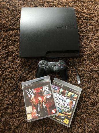 Playstation 3 Slim, PS3 Gta V, W2K16