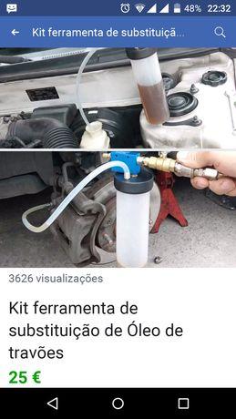 kit Ferramenta de Substituição de Óleo da Bomba de Óleo Hidráulico do