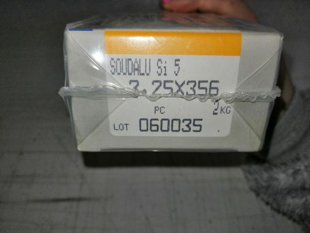 Eléctrodos alumínio máquina soldar