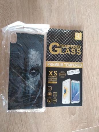 Sprzedam szkło i case na Xperie XA1 ultra