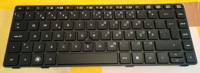 Teclado HP EliteBook 8460P 8460W Probook 6460b 6465b Com Track stick P