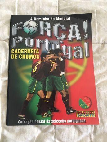 Colecção Força Portugal - A Caminho do Mundial (Panini Sports)