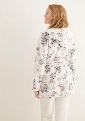 Халат WomenSecret , флисовая пижама , Oysho