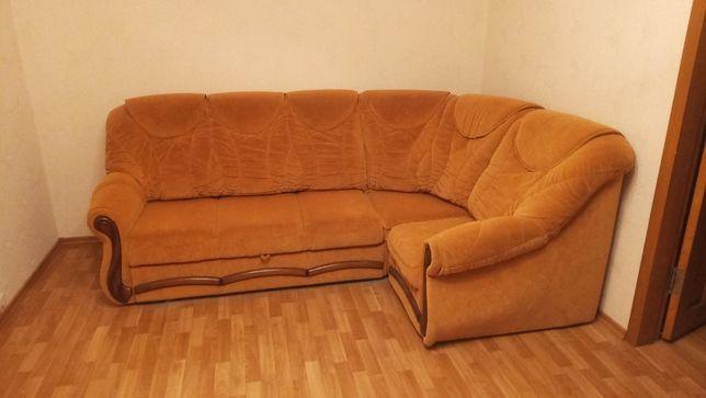 Мягкий диван уголок (Читайте описание!)