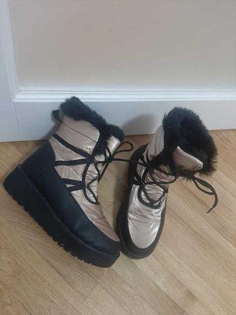 Зимові чоботи верх балон