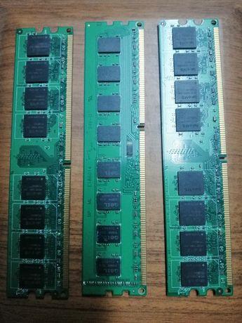 Оперативні пам'яті по 2 гіга. 3шт. Два блоки Живлення
