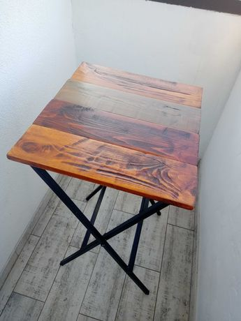 Столик складной лофт