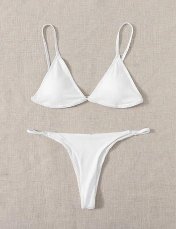 Biquíni/bikini branco SHEIN